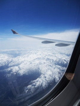 Flying over the French Alps...