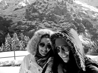 Me & my beautiful KK @Swiss Alps