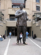 With Nelson: Joburg