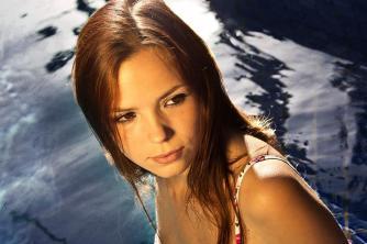 my favourite model, Isobella...